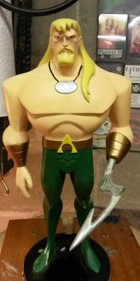 Aquaman_Maquette_statue_Repair_009