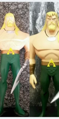 Aquaman_Maquette_statue_Repair_021
