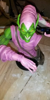Green_Goblin_statue_Repair_005
