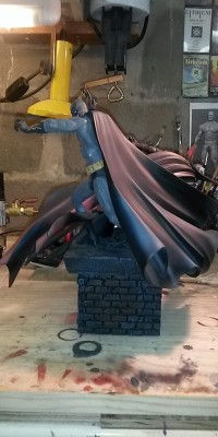 Spawn_ Batman_statue_Repair_003