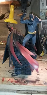 Spawn_ Batman_statue_Repair_004